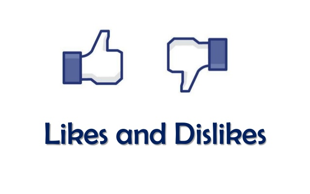 Image result for likes and dislikes