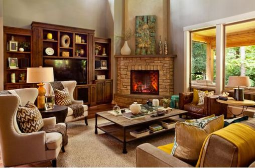 living-room-decor-corner-fireplace